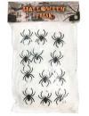 Toile d'araignée blanche 200 gr