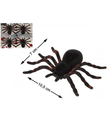 4 araignées géantes noires