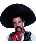 Sombrero bandit mexicain pour homme