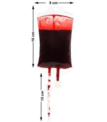 Perfusion de faux sang halloween