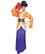 déguisement de chinoise pour femme, incarnez une ravissante geisha pour le carnaval