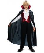 Déguisement de vampire gothique pour garçon de 7 ans à 12 ans