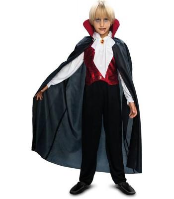Déguisement vampire gothique garçon 7 à 12 ans
