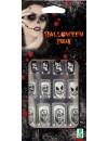 Faux ongles halloween squelette fantôme