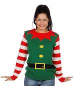 Pull de Noël lutin pour hommes et femmes, incarnez un véritable petit lutin de Noël