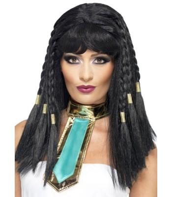 Perruque egyptienne Cléopatre