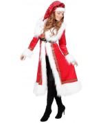 Manteau de noel pour femme, incarnez une charmante mère noël à l'occasion des fêtes de fin d'année
