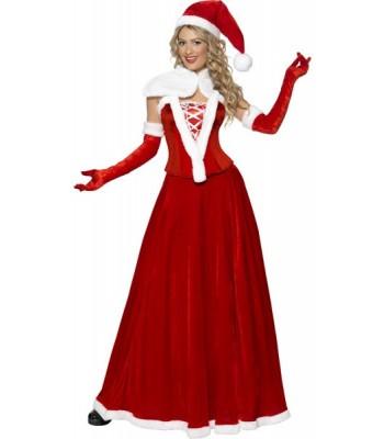 51929aeaa93 Déguisement Mère Noêl longue femme - la magie du déguisement ...