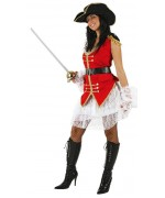 Déguisement capitaine pirate sexy pour femme WA103S