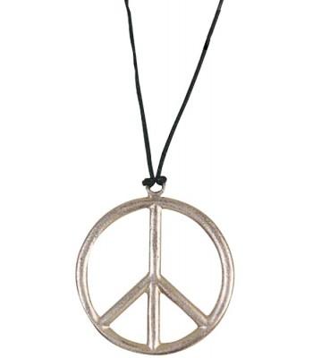 Pendentif peace and love plastique