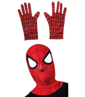 Gants Spiderman + cagoule enfant