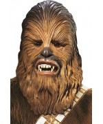 Masque officiel Star-Wars Chewbacca, masque intégral en latex idéal pour incarner ce personnage de la guerre des étoiles