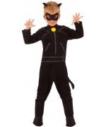 déguisement Chat Noir Miraculous Ladybug pour enfant de 3 à 10 ans sous licence officielle