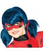 Perruque Ladybug Miraculous, deviens la super héroïne du dessin animé
