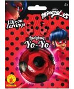 Yoyo Ladybug Miraculous avec boucle d'oreilles