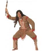 déguisement indien homme Hiawattha, également disponible en grande taille
