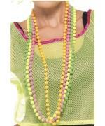 Set de 4 colliers fluo années 80, offrez de la couleur à votre déguisement