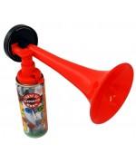 Klaxon de supporter, kit corne de brume avec recharge de 70 ml