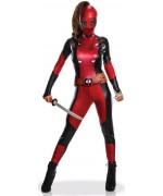 déguisement de Deadpool pour femme - costume super-héros Marvel pour adulte