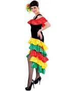 Robe brésilienne pour femme, déguisement disponible de la taille XS au XXL