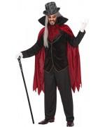 Déguisement de vampire gothique pour homme disponible en taille M/L et XL