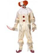 déguisement de clown tueur grande taille, incarnez un clown digne du film ça pour Halloween