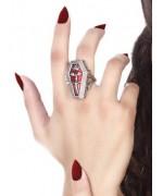 Bague cercueil, apportez une touche gothique et élégante à tous vos déguisements de vampire