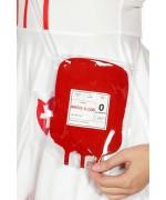 Sac poche de sang, idéal pour accessoiriser tous vos déguisements d'halloween