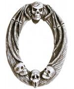 Faux miroir tête de mort - décoration halloween