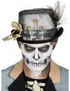 Chapeau haut de forme avec plume vous transforme en un véritable maître vaudou
