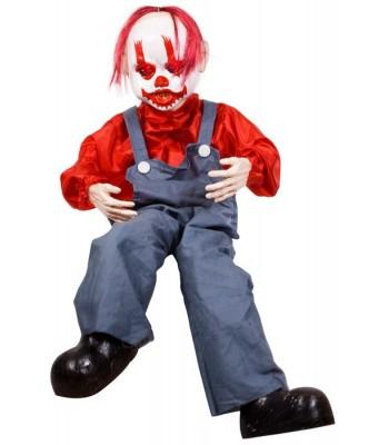 Décoration clown animé Halloween
