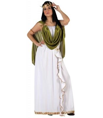Déguisement romaine verte femme