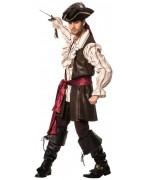 déguisement de pirate pour homme haute qualité, incarnez un véritable pirate des caraïbes