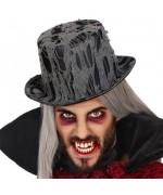 Chapeau haut de forme halloween, accessoirisez votre costume de vampire
