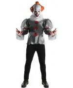 Déguisement clown Ça officiel avec masque en latex - film d'horreur