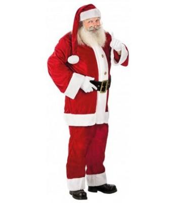Déguisement Père Noël velours