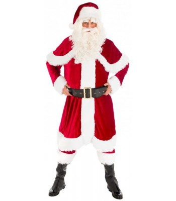 Costume de Père Noël luxe US