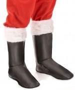 Sur-bottes de Père Noël avec fourrure