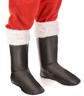 avec blancheLa Sur magie du bottes Père Noël fourrure Yb7v6gfy