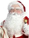Set de Père Noël luxe ultra complet avec bonnet, perruque, barbe, moustache et cache-sourcils - costume de père noël