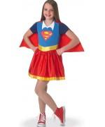 Déguisement de Supergirl pour fille - costume DC Comics