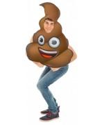 Déguisement Emoji crotte, drôle et décalé ce déguisement émoji fera sensation lors d'une soirée geek