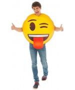 Déguisement Emoji clin d'œil, un costume original sous licence officielle