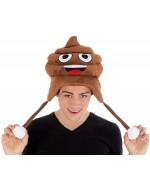 Chapeau Emoji crotte, un accessoire idéal pour votre déguisement émoji émoticone