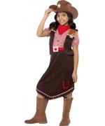 déguisement de cowgirl pour fille de 4 à 12 ans - costume western