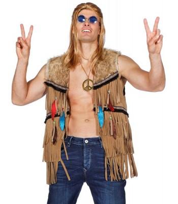 Veste d'indien et hippie