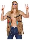 Gilet hippie pour homme également disponible en grandes tailles - veste western