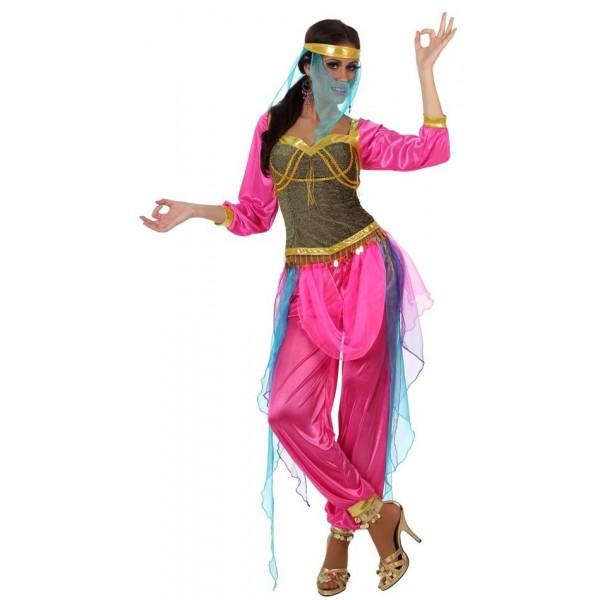 D guisement de danseuse orientale rose la magie du - Danseuse orientale dessin ...