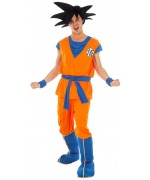 Déguisement Goku Saiyan Dragon Ball Z adulte