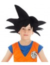 Perruque Goku noir enfant saiyan